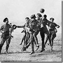 Fútbol vs Guerra