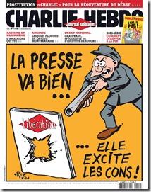Charlie Hebdo, portada 20 noviembre 2013