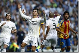 Bale, Crisitiano, Pepe, foto AP