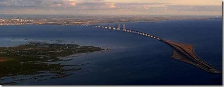 Puente de Öresund, Dinamarca, Suecia