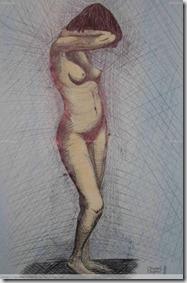 La Dama Desnuda, obra de Anabel Aspesi