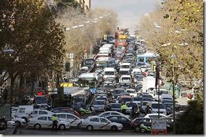 Atasco Madrid