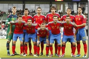 Fútbol español generación perdida