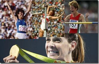 Campeonas olímpicas de salto de altura